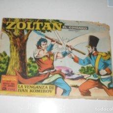 Tebeos: ZOLTAN EL ZINGARO 42.IBERO MUNDIAL,AÑO 1962.ORIGINAL APAISADO... Lote 293800803