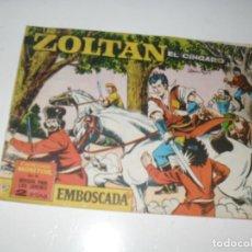 Giornalini: ZOLTAN EL ZINGARO 41.IBERO MUNDIAL,AÑO 1962.ORIGINAL APAISADO... Lote 293800998