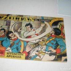 Giornalini: ZOLTAN EL ZINGARO 6.IBERO MUNDIAL,AÑO 1962.ORIGINAL APAISADO... Lote 293801138