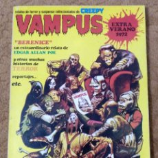 Tebeos: VAMPUS EXTRA VERANO (IBERO MUNDIAL 1972). Lote 295438483