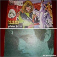 Tebeos: MARY NOTICIAS COLECCIÓN HEROÍNAS Nº 400 REVERSO LLUIS LLACH. Lote 296884688