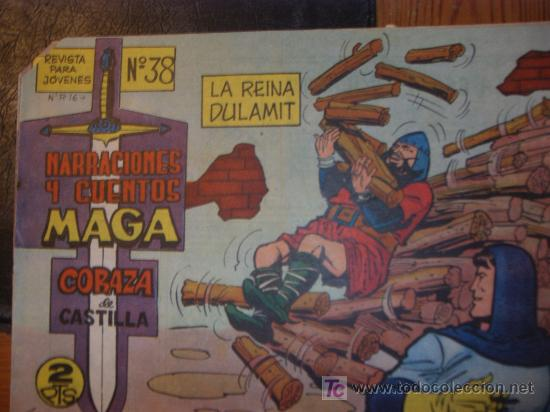 Tebeos: CORAZA de CASTILLA ( MAGA ) ORIGINALES 1964-1965 LOTE - Foto 3 - 26874142