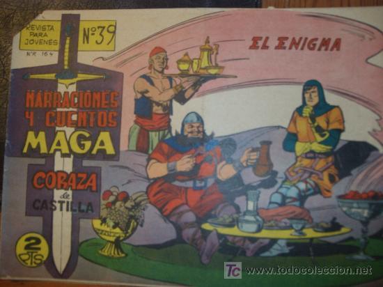 Tebeos: CORAZA de CASTILLA ( MAGA ) ORIGINALES 1964-1965 LOTE - Foto 4 - 26874142