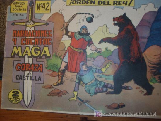 Tebeos: CORAZA de CASTILLA ( MAGA ) ORIGINALES 1964-1965 LOTE - Foto 5 - 26874142