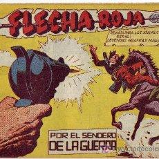Tebeos: COMIC FLECHA ROJA Nº60 ORIGINAL DEL AÑO 1962. Lote 25275273