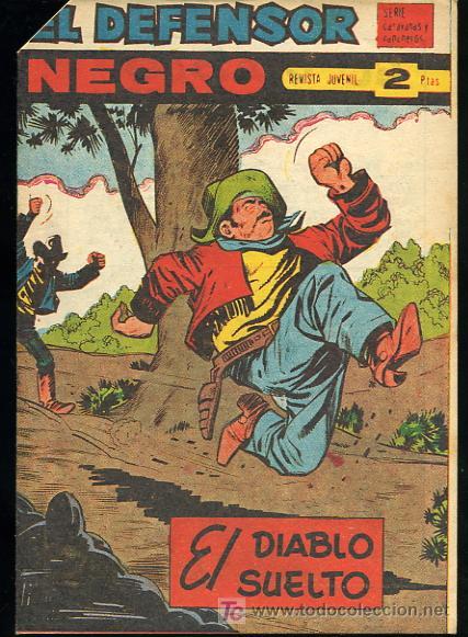 EL DEFENSOR NEGRO,Nº58 - EDITORIAL MAGA 1963 (Tebeos y Comics - Maga - Otros)