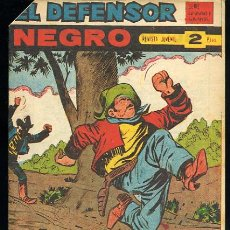 Tebeos: EL DEFENSOR NEGRO,Nº58 - EDITORIAL MAGA 1963. Lote 23129680