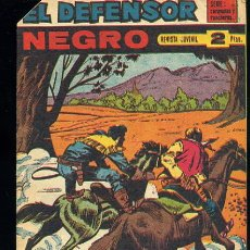 Tebeos: EL DEFENSOR NEGRO,Nº55 - EDITORIAL MAGA 1963. Lote 17082007