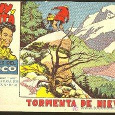 Tebeos: TONY Y ANITA Nº14 LOS ASES DEL CIRCO -TORMENTA DE NIEVE- EDITORIAL MAGA - AÑOS 50 A 60. Lote 3248282