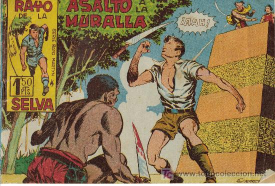 RAYO DE LA SELVA (MAGA) ORIGINALES 1960 LOTE (Tebeos y Comics - Maga - Rayo de la Selva)