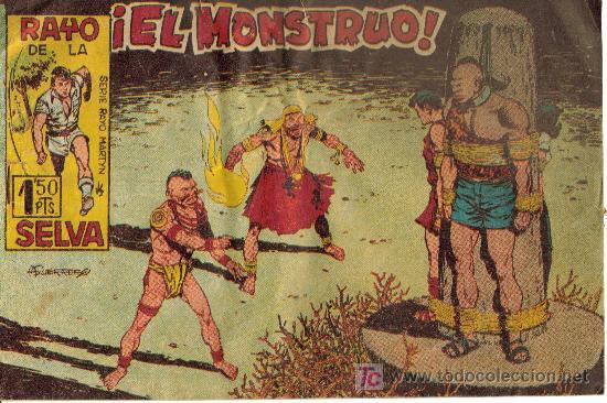 Tebeos: RAYO DE LA SELVA (MAGA) ORIGINALES 1960 LOTE - Foto 2 - 26399478