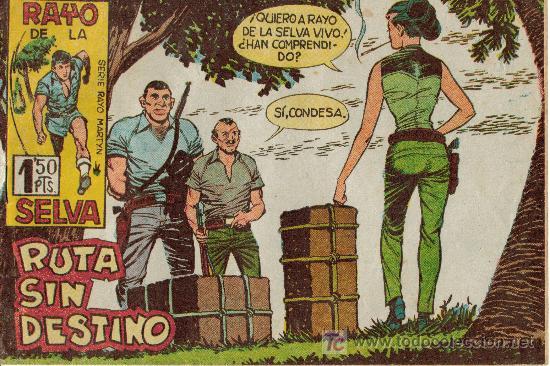 Tebeos: RAYO DE LA SELVA (MAGA) ORIGINALES 1960 LOTE - Foto 4 - 26399478