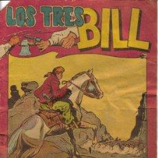 Tebeos: LOS TRES BILL (MAGA) ORIGINAL LOTE. Lote 27058735