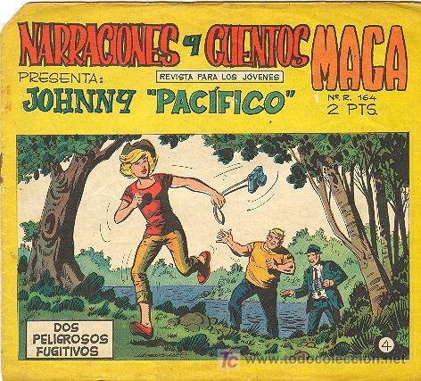 JOHNNY PACIFICO Nº 4 (Tebeos y Comics - Maga - Otros)