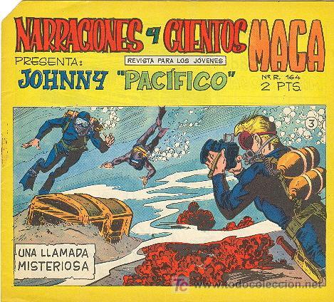 JOHNNY PACIFICO Nº 3 (Tebeos y Comics - Maga - Otros)