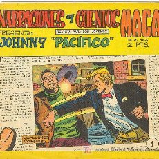 Tebeos: JOHNNY PACIFICO Nº 1. Lote 27021517