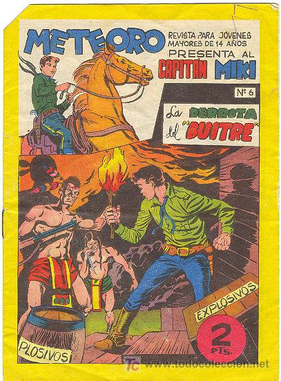 CAPITAN MIKI Nº 6 (Tebeos y Comics - Maga - Otros)