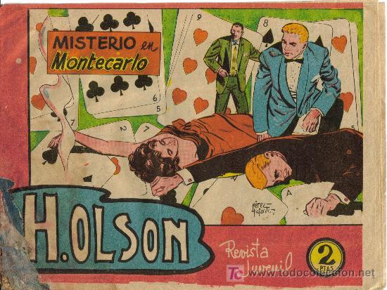 H. OLSON (MAGA) ORIGINAL 1963 Nº. 4 (Tebeos y Comics - Maga - Otros)