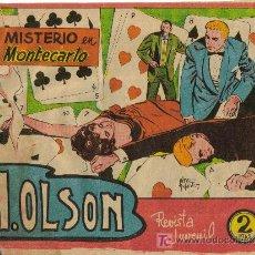 Tebeos: H. OLSON (MAGA) ORIGINAL 1963 Nº. 4. Lote 26852334