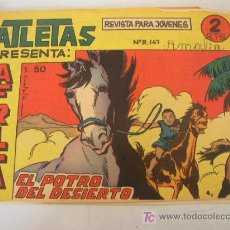 Tebeos: ATLETAS, PRESENTA : AFICA. Nº. 50.-EL POTRO DEL DESIERTO.- EDT. MAGA.-. Lote 16117673