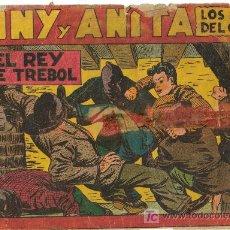 Tebeos: TONY Y ANITA ( MAGA ) ORIGINALES 1951-1958 LOTE. Lote 26288605