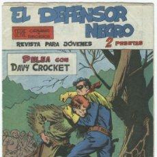 Tebeos: EL DEFENSOR NEGRO ORIGINAL Nº 10. Lote 11089132