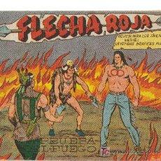 Tebeos: FLECHA ROJA ( MAGA) ORIGINALES 1962-1963 LOTE. Lote 26399480