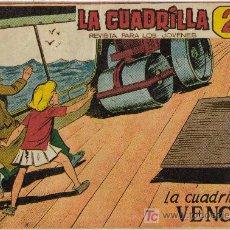 Tebeos: LA CUADRÍLLA (MAGA) ORIGINAL 1964 LOTE. Lote 26268123