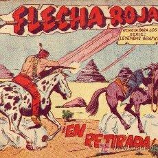 Tebeos: COMIC FLECHA ROJA Nº 7 AÑO 1962. Lote 21154308