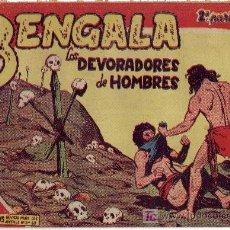 Tebeos: COMIC DEL AÑO 1959 BENGALA 2ªPARTE II-15. Lote 24798403