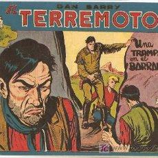 Tebeos: DAN BARRY EL TERREMOTO Nº 50 , , ORIGINAL, EDI. MAGA 1954, POR JOSÉ ORTIZ. Lote 18718760