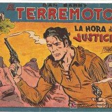 Tebeos: DAN BARRY EL TERREMOTO Nº 52 , , EDI. MAGA 1954 POR JOSÉ ORTIZ. Lote 7991551