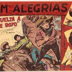 Tebeos: JIM ALEGRIAS Nº 12 LA VUELTA A MONTE ROJO. ED MAGA.. Lote 5620858