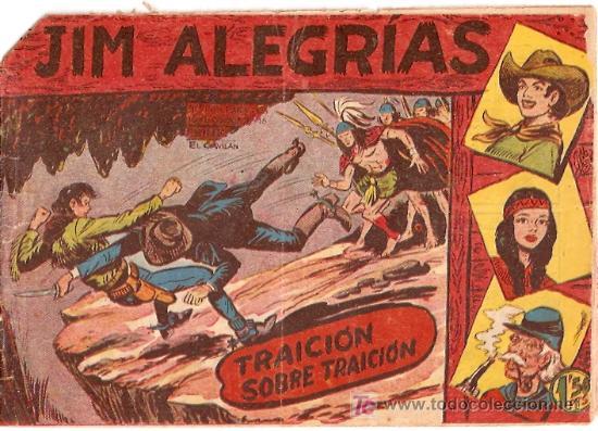 JIM ALEGRIAS Nº 21- TRAICION SOBRE TRAICION - ED MAGA. (Tebeos y Comics - Maga - Otros)
