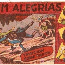 Tebeos: JIM ALEGRIAS Nº 21- TRAICION SOBRE TRAICION - ED MAGA.. Lote 5620869