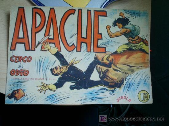 APACHE Nº 4. ORIGINAL (Tebeos y Comics - Maga - Apache)