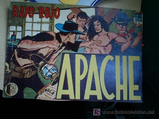 APACHE Nº 18. ORIGINAL (Tebeos y Comics - Maga - Apache)