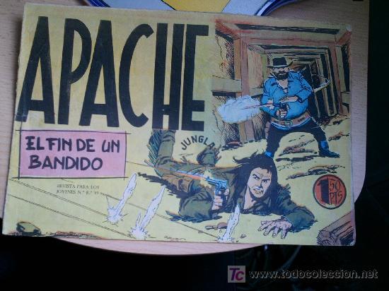 APACHE Nº 33 ORIGINAL (Tebeos y Comics - Maga - Apache)