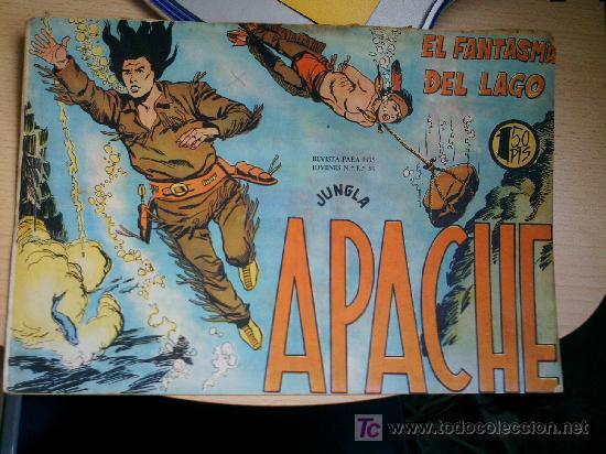 APACHE Nº 34 ORIGINAL (Tebeos y Comics - Maga - Apache)