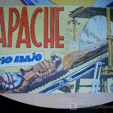 Tebeos: APACHE. Nº 45. ORIGINAL. Lote 25052458