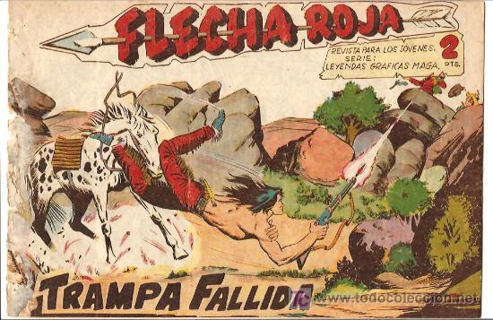 FLECHA ROJA 36 (Tebeos y Comics - Maga - Flecha Roja)