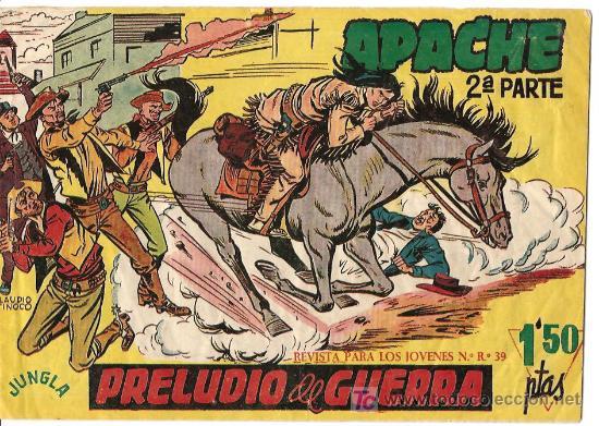 APACHE 2ª SERIE Nº 1 BASTANTE (Tebeos y Comics - Maga - Apache)