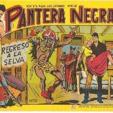 Tebeos: PANTERA NEGRA DE 2 PTS Nº 38. Lote 4753276