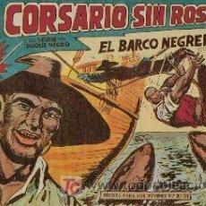 Tebeos: EL CORSARIO SIN ROSTRO ( MAGA) ORIGINALES 1959-1960 LOTE. Lote 26248978