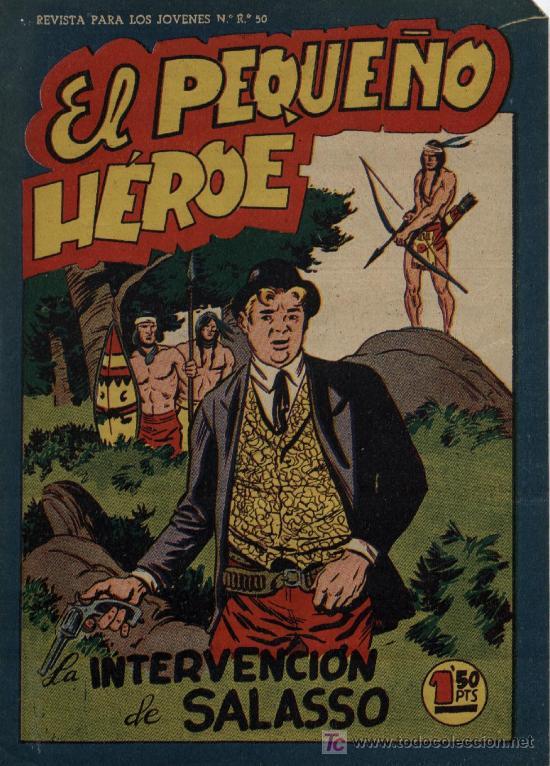 EL PEQUEÑO HÉROE - ORIGINAL, MAGA 1.956 - MIRAR NÚMEROS EN DESCRIPCIÓN, SE VENDEN SUELTOS (Tebeos y Comics - Maga - Pequeño Héroe)