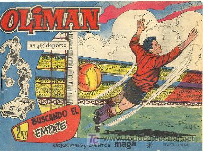 OLIMAN Nº 74 (Tebeos y Comics - Maga - Oliman)