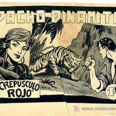 Tebeos: PRUEBA DE IMPRENTA , PACHO DINAMITA , CREPUSCULO ROJO , PI 23. Lote 20825550