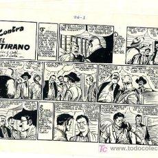 Tebeos: PRUEBA DE IMPRENTA , DAN BARRY EL TERREMOTO , Nº 26 , CONTRA EL TIRANO , PI 33. Lote 18629374