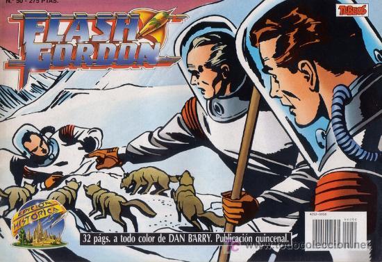 FLASH GORDON Nº 50. DAN BARRY. EDICIÓN HISTÓRICA. (Tebeos y Comics - Maga - Dan Barry)