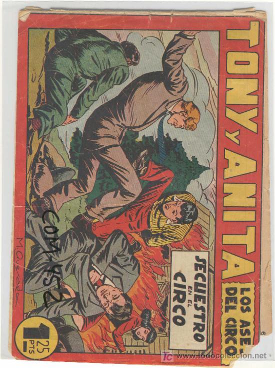 (COM-452)COMIC TONI Y ANITA (Tebeos y Comics - Maga - Tony y Anita)